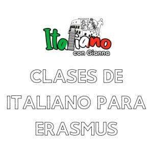 Clases de Italiano para Erasmus en Tres Cantos