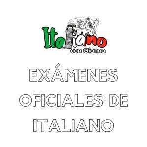 Exámenes oficiales de Italiano
