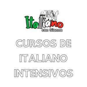 Cursos intensivos de italiano
