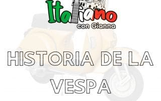 Historia de la Vespa