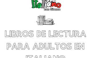 Libros de lectura en italiano para adultos