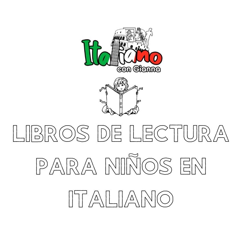 Libros de lectura en italiano para niños y niñas